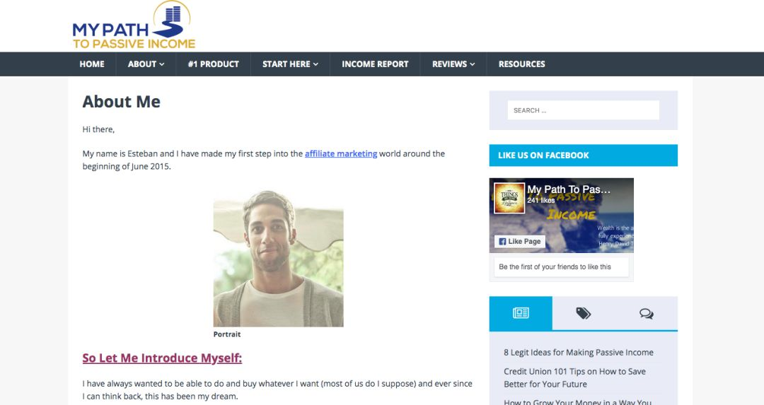 Screenshot of MelyssaGriffin.com website showing Melyssa on the left against a yellow background looking at some words offering her business plan workbook.